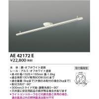 品番:AE42172E 品名:スライドコンセント 価格:15800円 メインスペック  器具ジャンル...