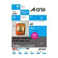 ●インクジェットプリンタでの印字適性に優れたラベルシールです。 ●光沢があって鮮やかに印刷できる、水...