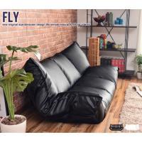 ふわもち2人掛けソファー。 高級感あふれるPVCレザーを使用したフロア2人掛けソファー。 ギアでソフ...