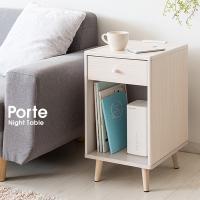 ベッドやソファのサイドに。 小さくて便利なナイトテーブル。  【サイズ】 幅30×奥行き35×高さ5...