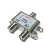 地上波デジタル/BS/CS放送に対応した、全端子通電タイプのアンテナ分配器 すべてのOUT端子からB...