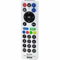 ●持ちやすく操作しやすいテレビリモコン!●スリム、コンパクトなので邪魔になりません●国内メーカー18...