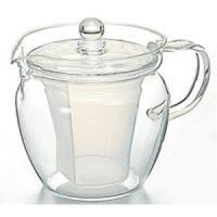 茶葉が目詰まりしない工夫がうれしい急須。日本茶にも、紅茶にも合うシンプルなデザインのティポット。耐熱...