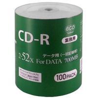 HI DISCのCD-R 700MB 100枚入バルク品ハイディスク HI DISC CR80GP1...