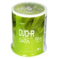 データ、写真、動画の保存に最適。100枚入データ保存用DVD-R記憶容量:4.7GBインクジェットプ...