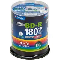 6倍速対応BD-Rスピンドルケース100枚パックインクジェットプリンタ対応