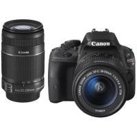 タッチパネルを搭載した小型軽量のデジタル一眼レフカメラ「EOS Kiss X7」とレンズ2本「EF-...