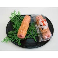 えび竹輪(1本入り)  厳選されたえびと特注の豆腐に魚のスリミを 練り合わせています。 油を使用せず...
