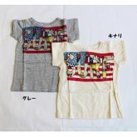 子ども服 セール キッズ 男の子 女の子 アメカジ 半袖 Tシャツ 日本製 ラフィ天竺 F.O.KI...