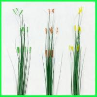 (造花・春・グリーン)カラービーズグラス / ディスプレイ・素材 | 990078
