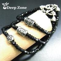 ブレスレット/ブレスレット メンズ ブラックダイヤに匹敵する輝きを放つブラックスピネルブレスレット ...