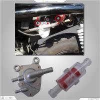 2サイクルスクーター用混合フューエルコック。YAMAHAジョグ系はボルトオンで交換可能。フューエルフ...