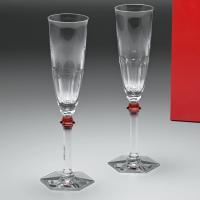 バカラを象徴する、「アルクール」のグラス。 深いフラットカットと重厚感のある美しいデザイン。 アルク...