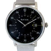 メッシュタイプのステンレスベルトのシンプルで合わせやすい腕時計[型番] P10131[サイズ(約)]...