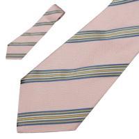 贈り物にもおすすめなポールスミスのネクタイ。シンプルなレジメンタルストライプの使い勝手のいいデザイン...