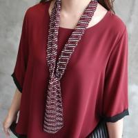 スカーフ レディース 柄 2016 夏 50代 40代 ファッション  カラー: Navy,Purp...