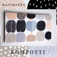 ■marimekko マリメッコ KOMPOTTI ■designer:Aino-Maija Met...