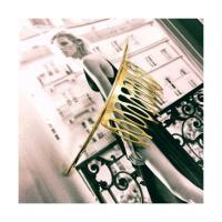 コサージュ ヘアアクセサリー クレセントコーム ティアラ ヘアコーム ゴールド シルバー ムーン バレッタ 三日月 かわいい レディースファッション