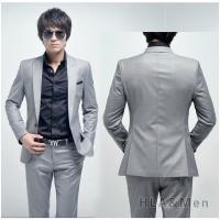 スーツ 2点セットアップ メンズ 1ツボタン ビジネススーツ スリムスーツメンズ 紳士 細身 スリム...
