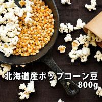 北海道産のポップコーン豆(バタフライタイプ とうもろこし)です。ポンポン弾ける楽しさ、リビングに広が...