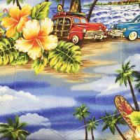 アロハシャツ メンズ Classic Woody Men's Hawaiian Shirt