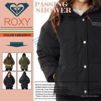ロキシー レディース 防寒 ジャケット ドロップショルダー ダウンジャケット ウェア トップス アウター PASSING SHOWER ROXY RJK194015