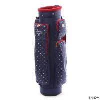Callaway(キャロウェイ) ◆華やかなモノグラムデザインモデル。 ◆大小、複数のポケットで小分...