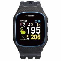 グリーンオン ザ・ゴルフウォッチ ノルム2 G018B ゴルフ GPS 距離計 時計 ナビ GPSナビ みちびき GREEN ON