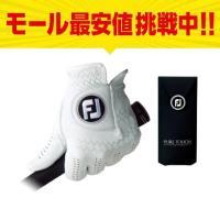 フットジョイ PURE TOUCH TOUR LIMITED ピュアタッチ FGPU :ホワイト ゴルフグローブ 手袋 左手 メンズ golf5