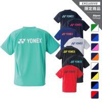 ヨネックス メンズ レディース テニス バドミントン 限定 半袖Tシャツ RWAP1801 UVカット YONEX