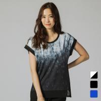 ティゴラ レディース Tシャツ フィットネスウェア ヨガウェア トレーニング ジム 半袖Tシャツ TR-3F2149TS TIGORA