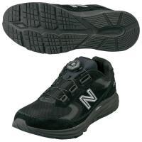 New Balance(ニューバランス) ◆軽量 ◆幅広 ◆衝撃吸収 ■カラー:ブラック ■素材: ...