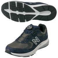 New Balance(ニューバランス) ◆軽量 ◆幅広 ◆衝撃吸収 ■カラー:ネイビー ■素材: ...