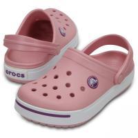 クロックス 正規品 クロックバンド2 キッズ ペールピンク Crocband II Kids PPnk/Dhl 11990-6E2 ジュニア キッズ  子供 クロッグサンダル crocs