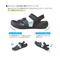 リゲッタカヌーx手塚コラボモデル!RCTZ-01 ブラック・ジャック トレイルサンダル/メンズ