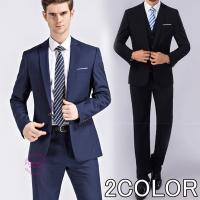 スーツセットアップ メンズ 2ピーススーツ 結婚式 礼服 ビジネススーツ 二次会 就活 テーラードジ...