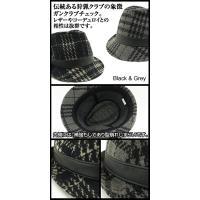 50%OFF 中折れハット ガンクラブチェック (男女兼用)☆[lcap]☆[mhat]