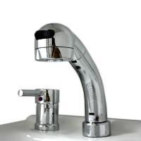 【シャワー混合水栓】【FS1260】【水栓高さ:15cm。リフトアップ:15cm。ホース引出し長さ:...