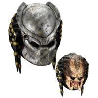■商品解説:プレデターのマスク。仮面は取り外し可能。材質は、素顔はラテックス合成ゴム、仮面はプラスチ...