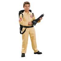 ゴーストバスターズの子供男性用コスチュームです。  演劇での衣装や、ハロウィンでの仮装、コスプレに!...