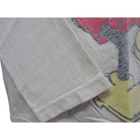 DISNEY VINTAGE(ディズニーヴィンテージ )メンズ L/S Tシャツ M25M2・Natural  (13時までの注文は当日発送 年中無休)