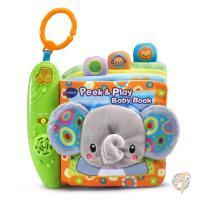 9fe03e09b20e4f VTech Baby Peek and Play Baby Book 音の出る赤ちゃんの布絵本 並行輸入品