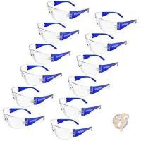 感染予防ゴーグル 感染予防メガネ JORESTECH 保護メガネ 眼鏡  耐衝撃 12個入 花粉 ほこり
