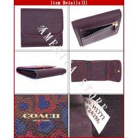 コーチ 三つ折り財布 COACH F24286 IMFCG アウトレット コーチ財布 コーチ三つ折り財布 レディース財布 cc-10678