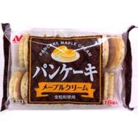 【冷凍】 朝食メニューや、デザートメニューにぴったりのパンケーキを発売します。中にメープルクリームと...