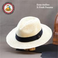 チョットこだわったパナマ帽子!  パナマ草を太めに加工して編込んだエクスプローラーパナマ帽子。アウト...