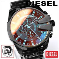DIESEL/ディーゼル腕時計から待望のNEWモデルが登場! 人気の戦闘機モチーフのメガチーフ、新カ...