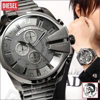 ディーゼル メンズ クロノグラフ腕時計 メガチーフ 人気・売れ筋モデル  ◆腕時計雑誌でも注目のディ...
