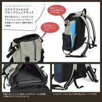 リュックサック バックパック デイパック A4サイズ対応 ユニセックス ポリエステル PVC レザー カジュアル 旅行 トラベル アウトドア BAG 鞄 かばん