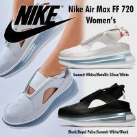 95a02af610b Nike Air Max FF 720 ナイキ エアマックス サンダル スニーカー レディース ホワイト ブラック 正規品 送料無料 US直輸入 【Nike  ナイキ】NIKE AIR MAX FF 720 【お ...